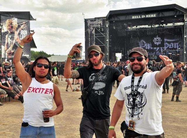 BravoRock Team Edgar Bravo, Juan and Maynor at Party San 2018