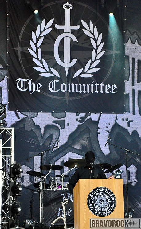 The Committee playing at the party san 2018