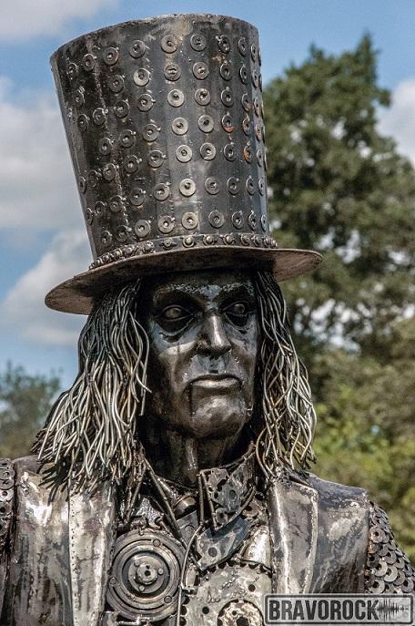 Alice Cooper metal statue - Wacken 2018