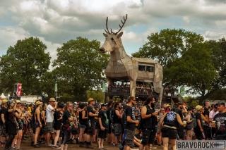 viwe of wacken deer 2018