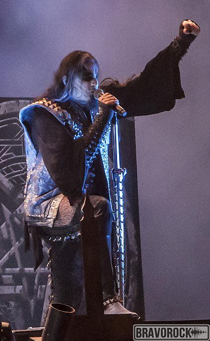 Dimmu Borgir frontman at Wacken 2018