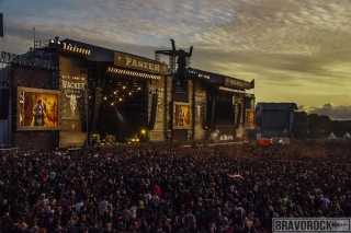Wacken view of the stages 2018 - Arch Enemy