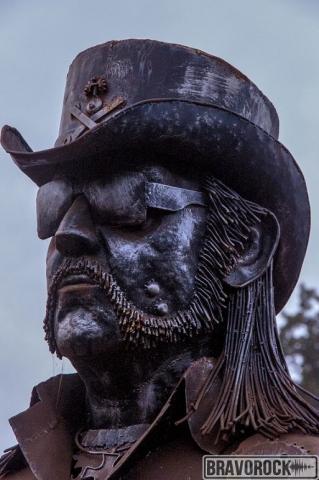 Lemmy Kilmister metal statue - Wacken 2018