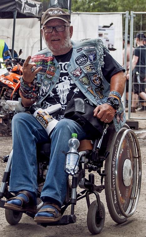 Günter Jacobs (Wacken grandpa, Doro fanboy, W:O:A veteran)