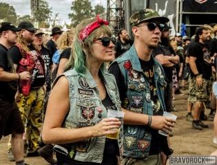 a couple at Wacken 2018