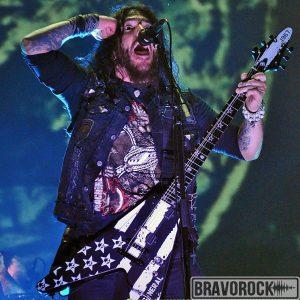 Robb Flynn from Machine Head at Wacken 2012 show photo by Edgar Bravo