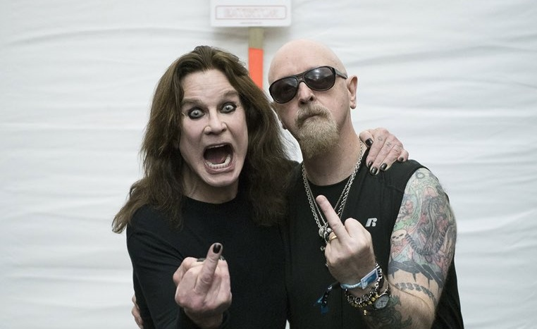 Ozzy and Rob Halford - Photo RossHalfin