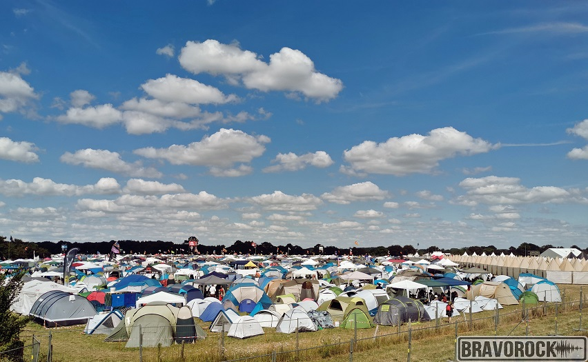 Camping - Hellfest 2019