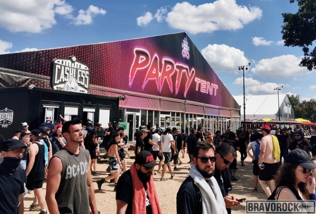 Party Tent - Hellfest 2019