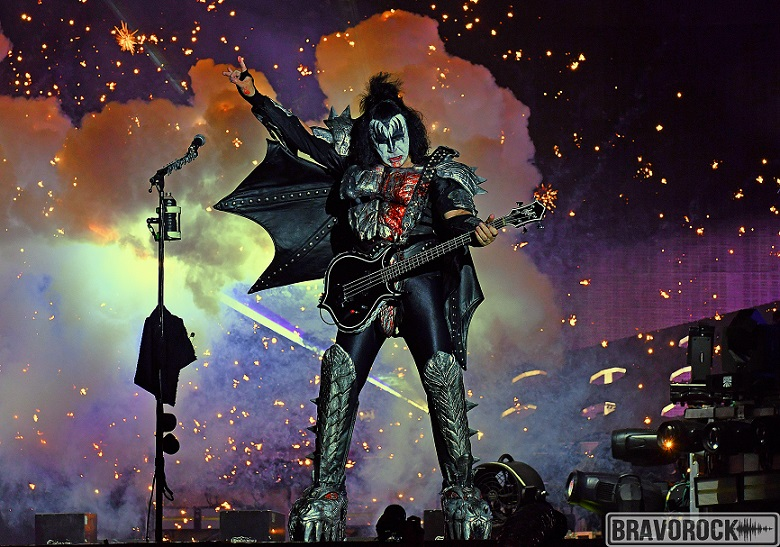 Gene Simmons - KISS - Hellfest 2019