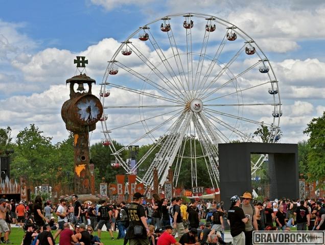 Ferris wheel - Hellfest 2019